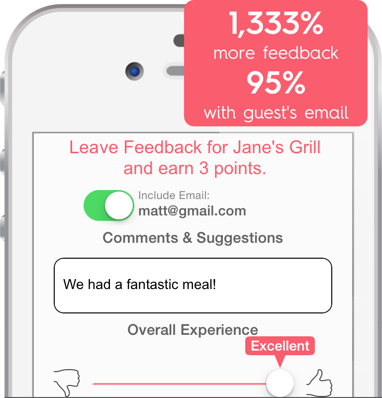 Easily Collect More Feedback At Your Restaurant