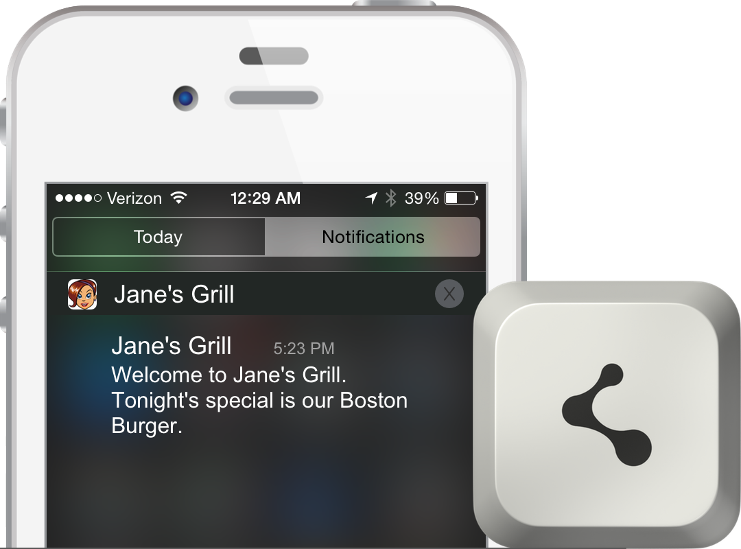 iBeacon and Beacon Software For Restaurants To Identify Guests
